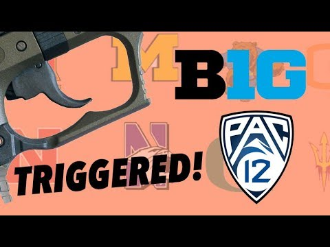 TRIGGERING ALL COLLEGE FOOTBALL FAN BASES - THE PAC12 and The B1G - Part 2