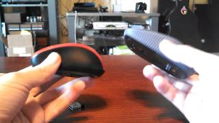 Microsoft 3500 VS Logitech T400 Wireless mouse