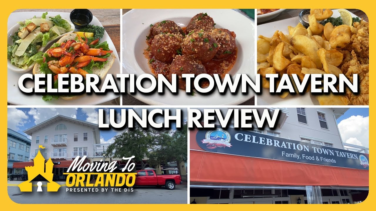 How good is Celebration Town Tavern? | Dining Review | Moving to Orlando