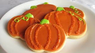 Halloween Recipe: Pumpkin Sugar Cookies!