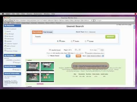 Customizing Easynews Usenet - Part 2 of 4 - Search Settings