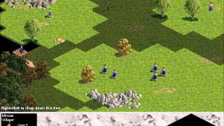 Age of empires Gold Edition minoan part 1 gameplay