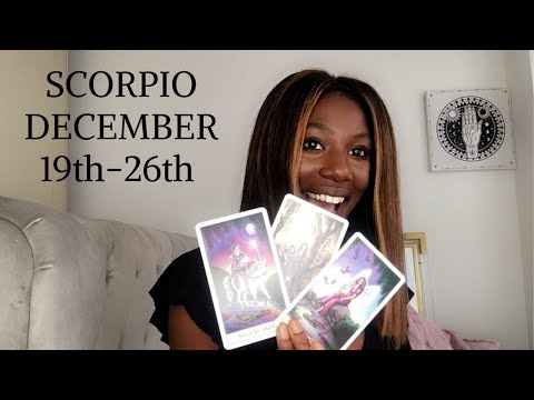 "SCORPIO- ""EVERYONE IS OBSESSED AND SOMEONE WANTS TO POSSESS"" DECEMBER 19-26  WEEKLY TAROT READING"