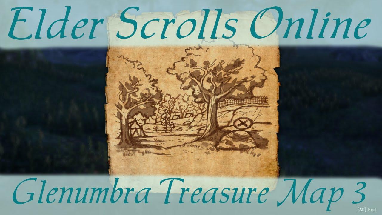 Glenumbra Treasure Map 3 [Elder Scrolls Online ESO]