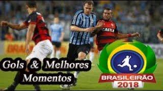 Grêmio x Vitória - Gols & Melhores Momentos Brasileirão Serie A 2018 18ª Rodada