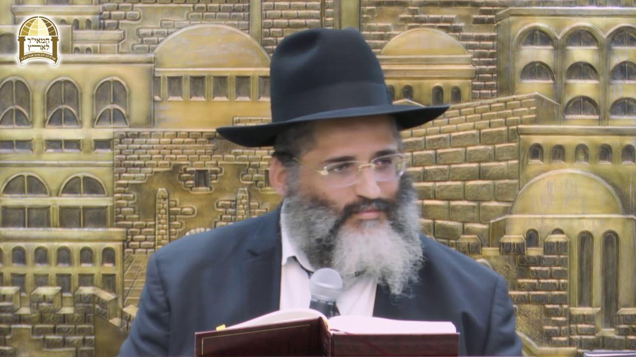 """איך קונים מתיקות לחיים? פרשת בהעלותך ה'תשעט - הרה""""ג הרב ישראל אברג'ל שליט""""א"""