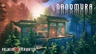 Valheim - Nanomura Showcase - An Epic Crossover of Overwatch's Hanamura (NO MOD)