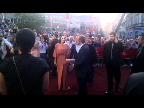 30/07/11 Brad Pitt and Angelina Jolie@Sarajevo Film Festival