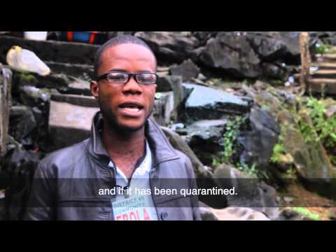 WHO: Liberia - local students become active Ebola case finders