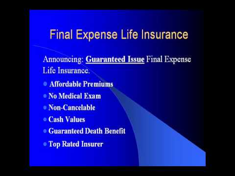 Final Expense Life Insurance Quotes Awesome Final Expense Life Insurance.wmv  Youtube
