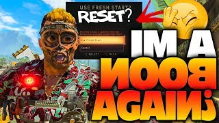 I GOT HACKED?! Reset To Rank 1 In Black Ops 4 (Live Reaction)