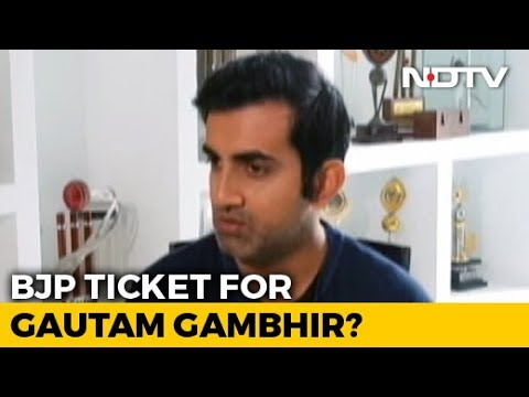 Ex-Cricketer Gautam Gambhir May Be BJP Candidate From New Delhi: Sources