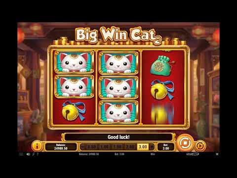 Игровой автомат BIG WIN CAT играть бесплатно и без регистрации онлайн