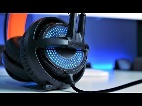 Steelseries Siberia 350 Gaming Headset Review (4K)