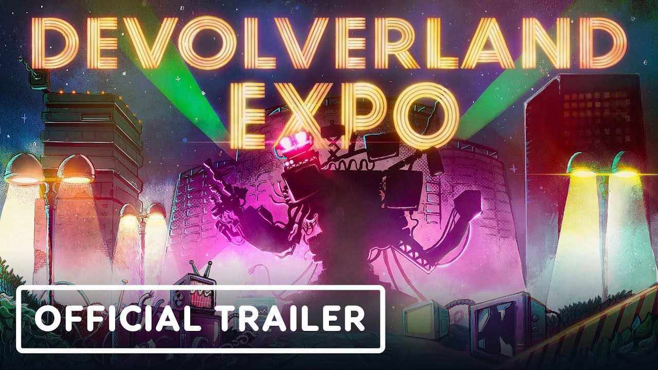 Devolverland Expo - Official Launch Trailer - IGN
