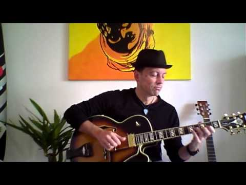 """Human Nature"" -M.Jackson- Jazz-Guitar by Jo. Vogel"