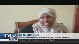 In Somalia, a female taxi driver defies convention