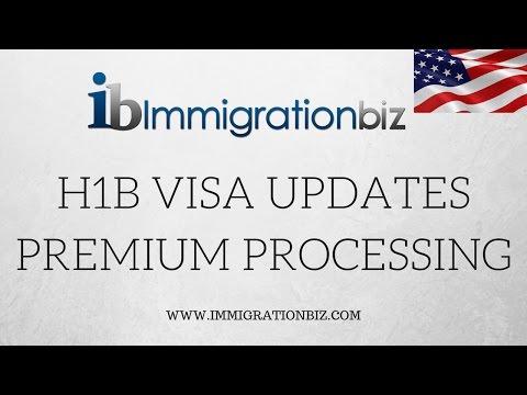 H1B VISA UPDATES | PREMIUM PROCESSING CHANGE | IMMIGRATION USA