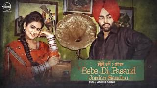 bebe-di-pasand-full-song-jordan-sandhu-punjabi-song-collection-speed-records