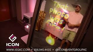 Icon Event Group Photobooth Demos