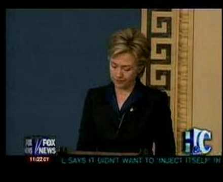 Hillary Clinton Reverses Her Position on Iraq War