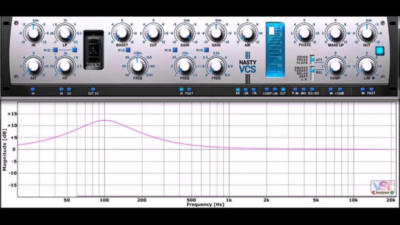 NastyVCS (VST Plugin Analyser) by Variety Of Sound