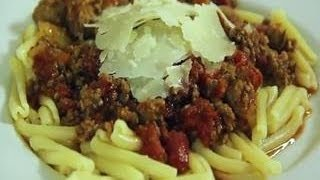 Meat Sauce Over Pasta, Spaghetti Sauce Recipe