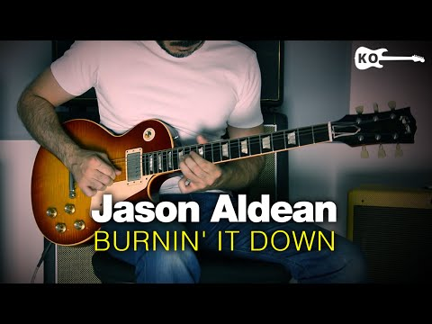 Jason Aldean - Burnin' It Down - Electric Guitar Cover by Kfir Ochaion