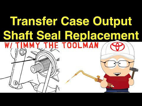 Transfer Case Output Shaft Seal Replacement