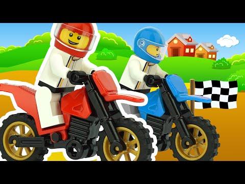 Мотоциклы гонки мультфильм