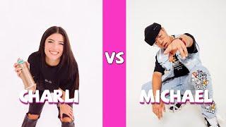 Charli D'amelio Vs Michael Le TikTok Dances Compilation