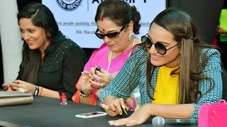 After Nail Painting Sonakshi wants to break this record in Guinness