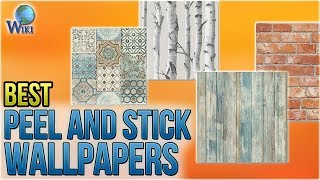 10 Best Peel and Stick Wallpapers 2018