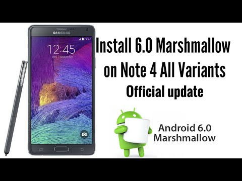 How To Install 6.0 Marshmallow On Samsung Galaxy Note 4