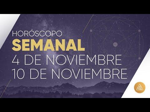HOROSCOPO SEMANAL | 4 AL 10 DE NOVIEMBRE | ALFONSO LEÓN ARQUITECTO DE SUEÑOS