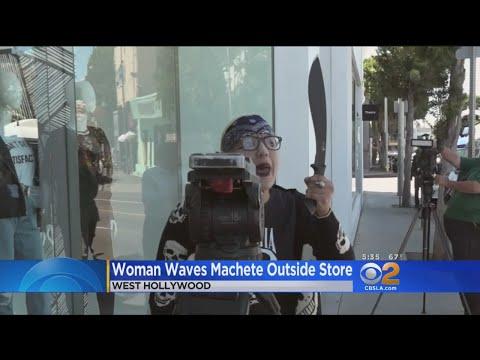 Woman Armed With Gun, Machete Goes To Kardashian Store, Rants About Cuba