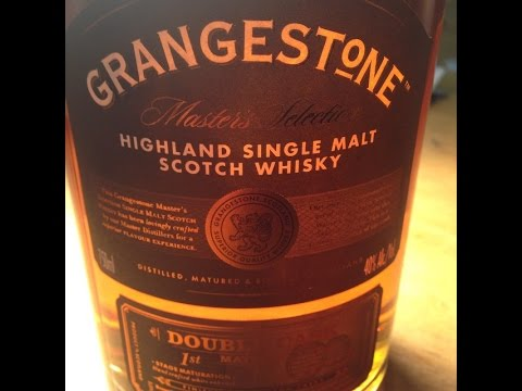 grangestone scotch whiskey review youtube
