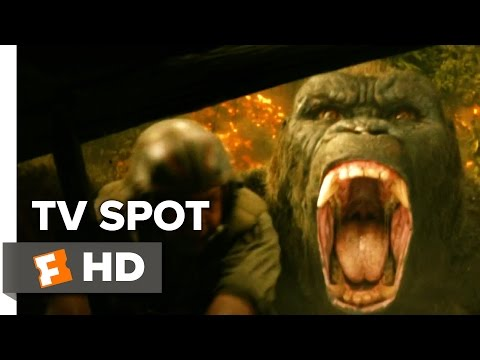 Kong: Skull Island TV SPOT - Uncharted (2017) - Tom Hiddleston Movie