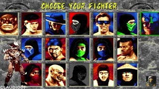 Mortal Kombat II UNLIMITED - SHAO KAHN - (Sega Genesis Mega Drive)