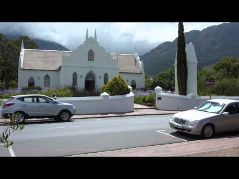 """Franschhoek (Cape Province): the """"gourmet and wine capital of South Africa"""""""