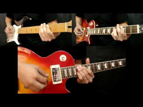 Guns N' Roses - Knockin' On Heaven's Door (Cover) ALL GUITARS