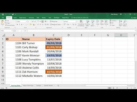 If date greater than today excel formulas