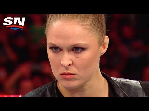 Ronda Rousey Laying Waste to WWE Security and Renee Young's Announcing Debut  Aftermath