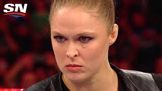 Ronda Rousey Laying Waste to WWE Security and Renee Young's Announcing Debut | Aftermath
