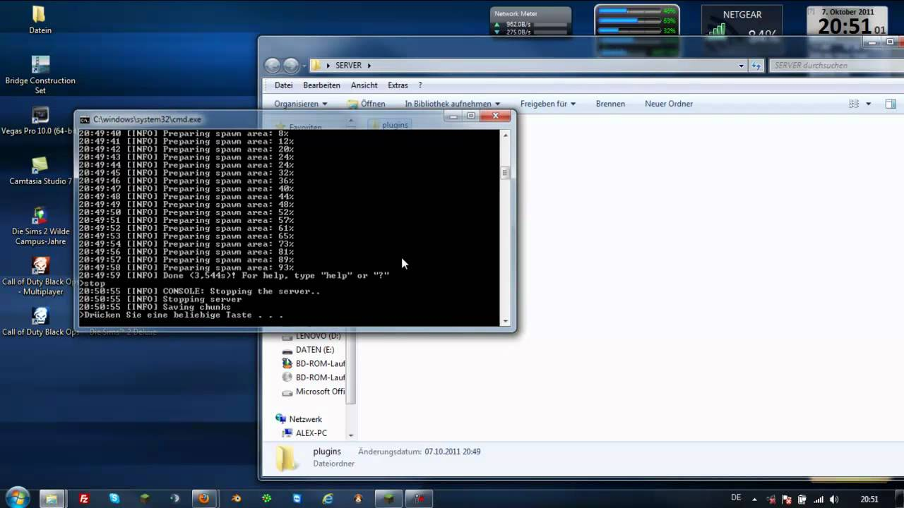 Tutorial Minecraft Bukkit Server Erstellen YouTube - Minecraft server erstellen bukkit