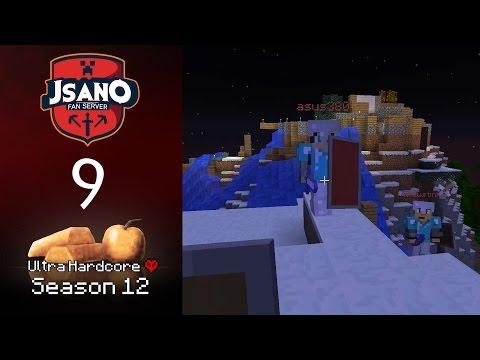 Minecraft: JSano Fan Server UHC S12 - E9 - Encounter Endeavour!