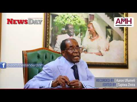 MUGABE's first interview, since the ouster