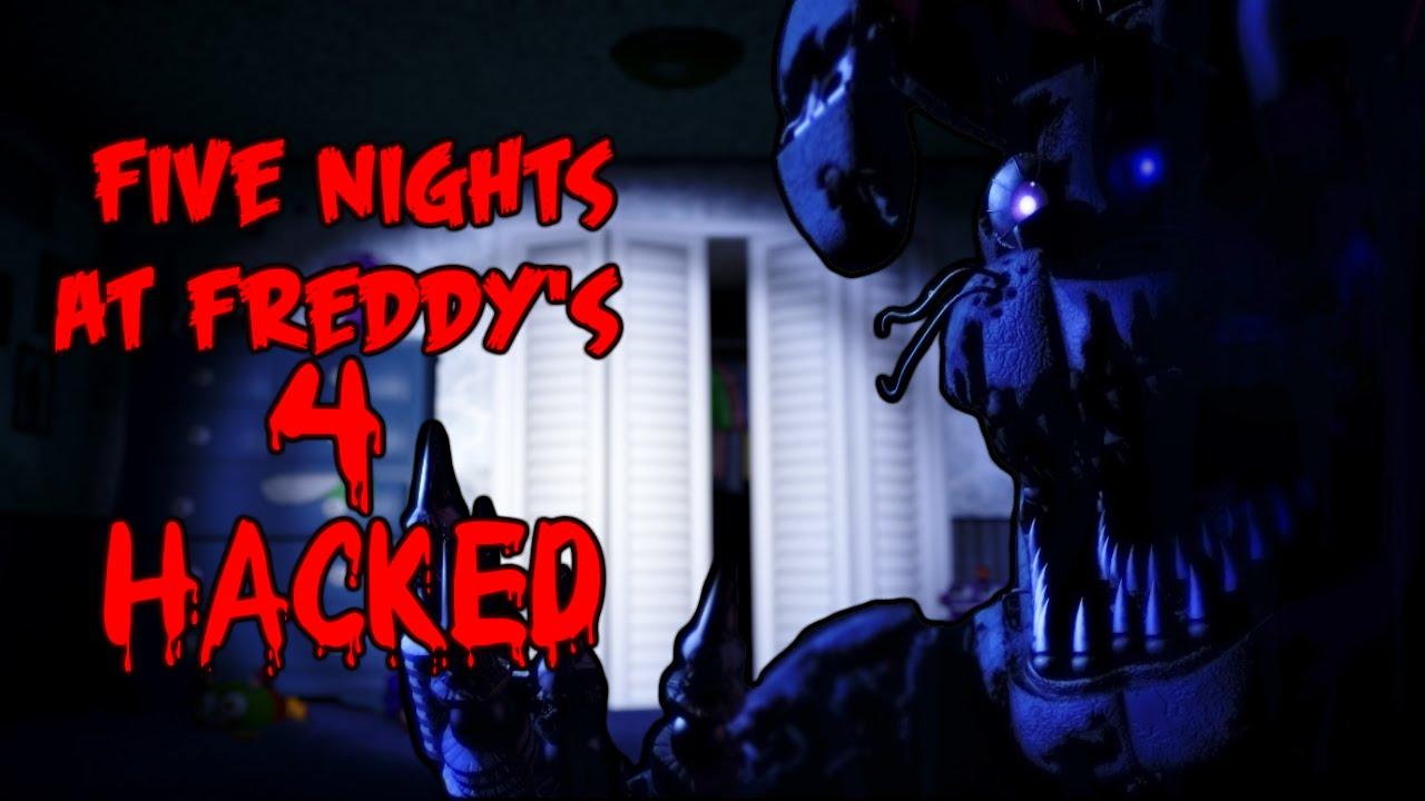 Five Nights at Freddy's 4 - HACK TUTORIAL: UNLOCK EXTRA - NIGHTMARE MODE