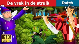 De vrek in de struik | Miser in the Bush Story in Dutch  | 4K UHD | Dutch Fairy Tales