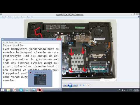Lenovo boot ekran sehvi...how to fix Lenovo boot screen error